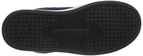 DC REBOUNDT B NGH Jungen Hohe Sneakers Blau (Navy/Grey NGH)