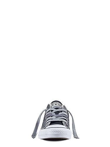 All Star Ox Canvas LTD - 156907C Vintage Silver Glitter - Grigio
