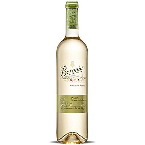 Beronia Viura Fermentado en Barrica Vino Blanco - 1 botella