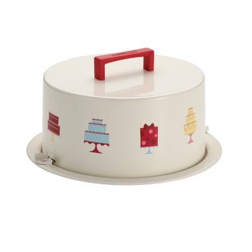Cake Boss Kuchenaufbewahrungsform, Metall, für Küchlein