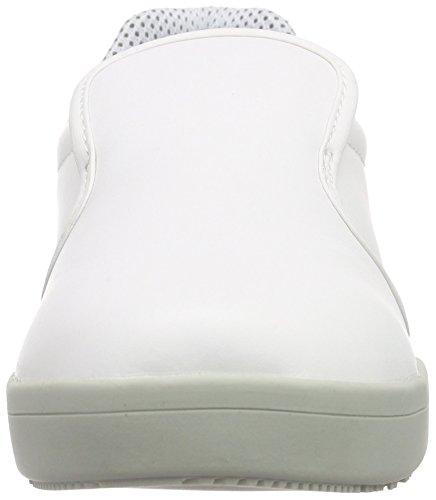 Sanita Unisex-Erwachsene San-Chef Slipper-s2 Weiß (White 1)