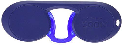 Nooz - Bügellose Lesebrille Unisex - Blau +1,5 Oval - Immer griffbereit