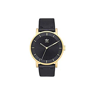 Reloj Adidas District L1 Gold Negro Unisex