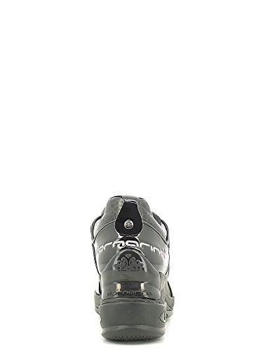 Fornarinasneaker coin noir article crack quotidien noir interne PIFDY7615WVA0000 nouvelle collection Automne Hiver 2016 2017 Noir