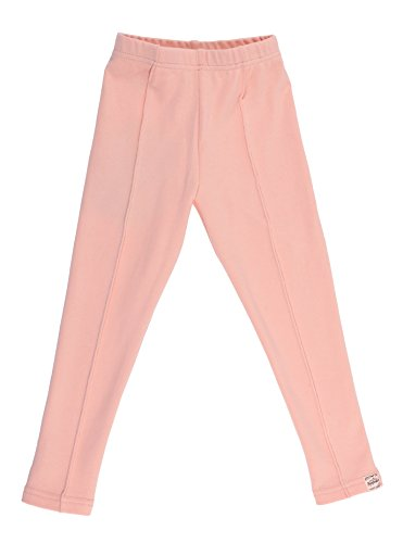 oceankids-girls-casual-trousers-seamless-knit-jogging-fit-slim-jogging-bottoms-pink-3-4-years