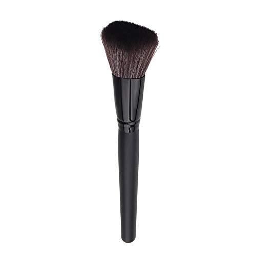Dtuta 1 Holzgriff Fasergrundierung Pulver Lose Lidschatten Lippen Make-Up Pinsel, Exquisite Perfekte...