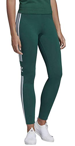 adidas Damen Trefoil Leggings, Collegiate Green, ()