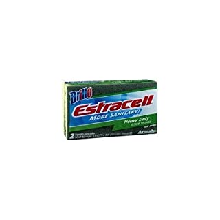 Armaly Brands 21021 Heavy-Duty Estracell Scrub Sponge, 2 Count by Armaly Brands