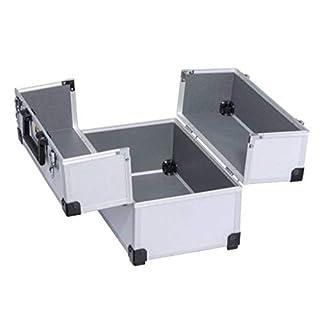 Allit AluPlus >L< 36C Werkzeugkoffer Verpackungskoffer Silber Utensilien Koffer Werkzeugbox