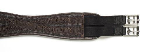 Cottage Craft PVC Shaped - Cincha de polo y hípica, tamaño 155 cm, color marrón