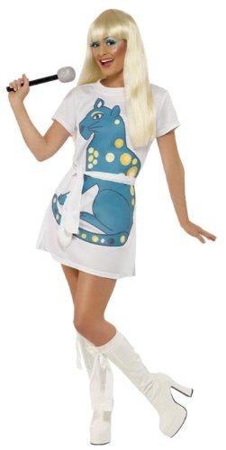 Smiffy's Disco Girl Karneval Kostüm Größe: S (36-38) (Kostüme Disco Girl)