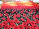 Timeless Treasures First Class quilting Coton Coquelicots dans le soleil C5833 Panneau 60 x 110 cm