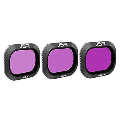 Javpoo filtros Lente ND4 ND8 ND16 Kit para dji Mavic 2 Pro Drone Camera por Javpoo001