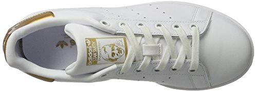 adidas Damen Stan Smith W Tennisschuhe Weiß (Ftwwht/Ftwwht/Supcol)