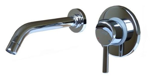 Design 2Loch Unterputz Armatur Einhebel Waschbecken Badwanne Hochglanz Sanlingo Chrom