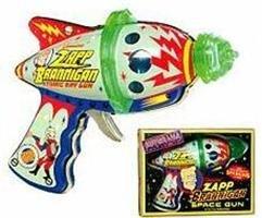 Futurama-Zapp-Branigan-Atomic-Ray-Gun-Pistole-mit-Licht-Effekten