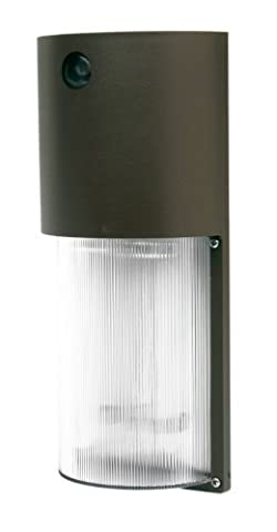 Designers Edge L-1772-26W-BR ECOZONE 26-Watt Fluorescent Dusk to Dawn Security Light, Bronze by Designers Edge
