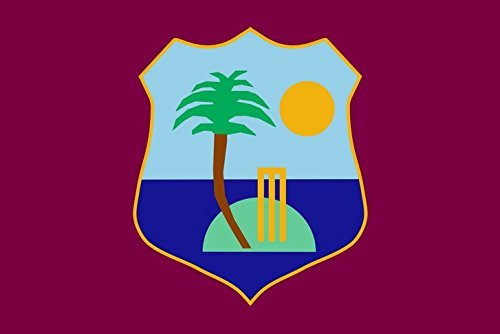 Westindische Inseln Flagge 3FT x 2FT M - 100% Polyester - Metallösen - doppelt genäht