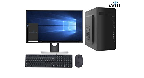 Tegh ™ TC-1561 DESKTOP COMPUTER PC INTEL CORE 2 DUO 3GHZ / 2GB RAM / 160GB HARDISK / CONSISTENT 15.6 Inch HD LED / CONSISTENT G31 MOTHERBOARD / WIFI / WINDOWS 7 TRIAL INSTALLED / INTEGRATED GRAPHICS / INTEX CABINET  available at amazon for Rs.9550