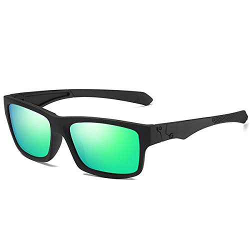 DYFDHA Sonnenbrillen Polarized Sunglasses Men's Driving Shades Male Sun Glasses For Men Retro Cheap NEW Luxury Brand Designer Oculos Green