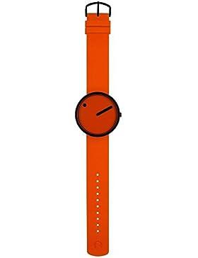 Rosendahl Unisex-Armbanduhr Picto Analog Quarz Kautschuk R-43374