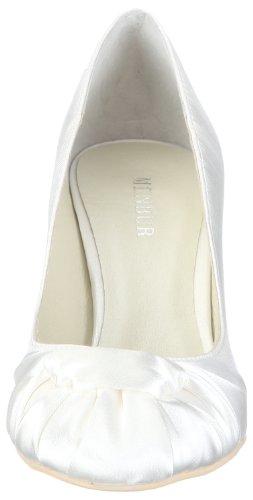 Menbur Wedding Rosa 04004, Scarpe con tacco da sposa Avorio (Elfenbein/Ivory)