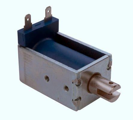 Deltrol Linear Solenoid Actuator, 6 V dc, 110oz, 6 (Stroke oz @0 5 in),  34 9 x 52 x 30 9 mm