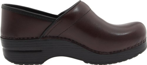Dansko Women's Professional Pro Cabrio Leather Clog Cordovan Cabrio Leather