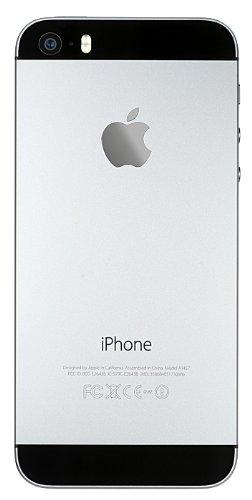 Apple iPhone 5s 4  SIM   nica 4G 1GB 64GB 1570mAh Gris - Smartphone  10 2 cm  4    64 GB  8 MP  iOS  7  Gris