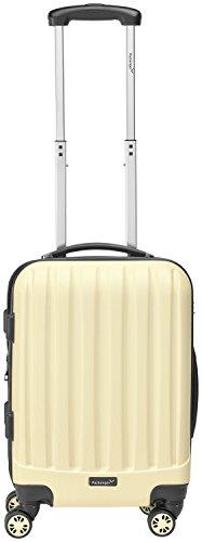 Packenger Kofferset - Velvet - 3-teilig (M, L & XL), Cafe-au-Lait, 4 Rollen, Koffer mit TSA- Schloss und Erweiterungsfach, Hartschalenkoffer (ABS) - 7