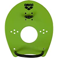 Arena Schwimm-Trainingsgerät Trainingstool Elite Hand Paddle - Palas de mano para natación, color verde, talla M