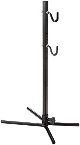 Point Fahrradhalter Präsentationsständer mit gummierten Haken - verstellbar für jeden Rahmentyp, schwarz, 13600205