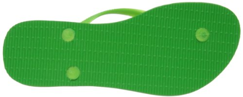 Havaianas Slim, Tongs Femme Vert 5211