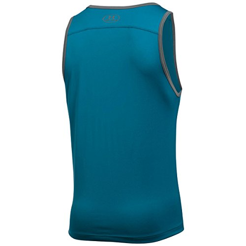 Under Armour Herren Ua Tech Tank Bayou Blue