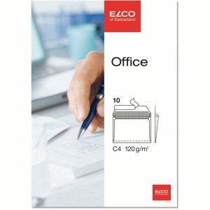 Preisvergleich Produktbild ELCO 10 x Briefumschläge C4 Beige Haftklebung mit Innendruck Kraftpapier 120 g/qm VE=10 Stück