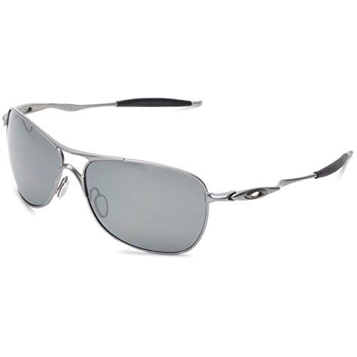 Oakley Für Mann Crosshair (2012) Oo4060 Lead Black / Iridium (Polarized) Metallgestell Sonnenbrillen