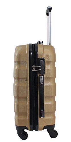 31xOqUca5VL - Maleta cabina 55cm - Trole ALISTAIR FLY - ABS extremista Ligero - 4 ruedas