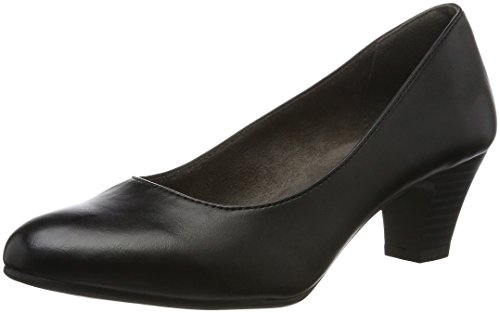 Softline22463 - Scarpe con Tacco Donna Nero (Black)