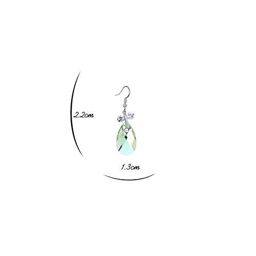 Mt, Borsa a spalla donna Cristallo Vert péridot