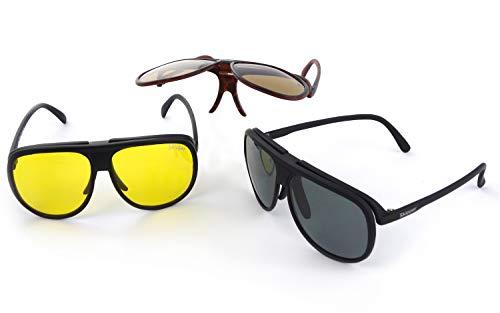 Skipper® - Polarized Eyewear | UV400 Schutzfilter, polarisierende nachtsicht HLT® Kunststoff-Sicherheitsglas nach DIN EN 166 | Wassersportbrille, Sportbrille, Sonnenbrille, Nachtbrille