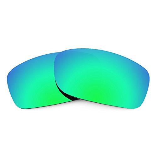 Revant Ersatzlinsen für Oakley Fives Squared Emerald Grün MirrorShield®