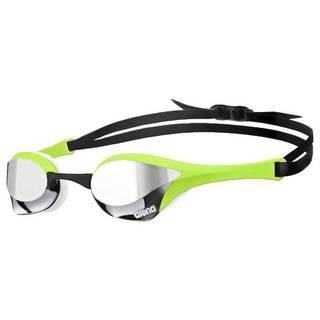 Arena Cobra Ultra Spiegel Schwimmen goggle-mirrored lens-silver/grün/weiß