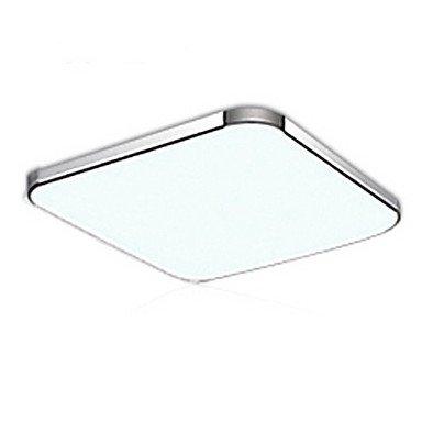 Bang Concise moderne LED Flush galvanoplastie Acrylique Aluminium Light Mount