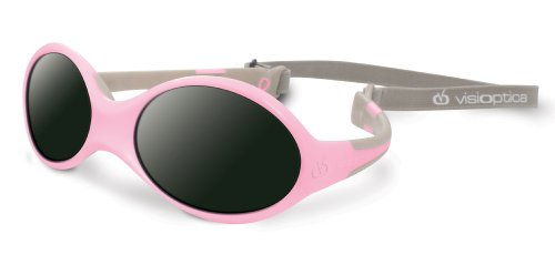 Visiomed Baby Lunettes Solaires, Visioptica Kids Reverso One, Rose, 0 à 12 mois