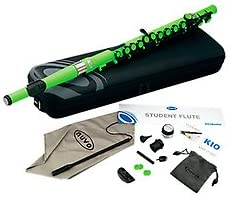 Nuvo Flute Laser green · Flauta travesera
