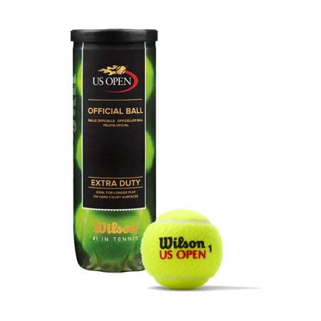 Wilson US Open 3 Ball Tube Yellow