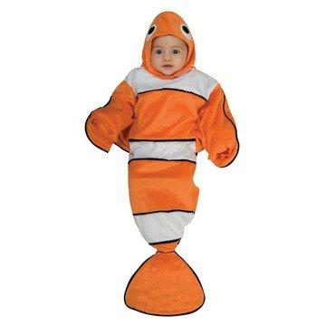 Imagen de disfraz de pez nemo bebé