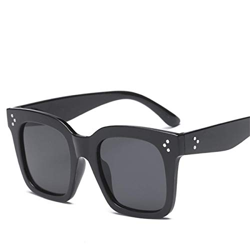 Jeewly Klassische Sportsonnenbrille, Oversized Oculos Sunglasses Feminino Square Women Sunglasses Kim Kardashian Sun