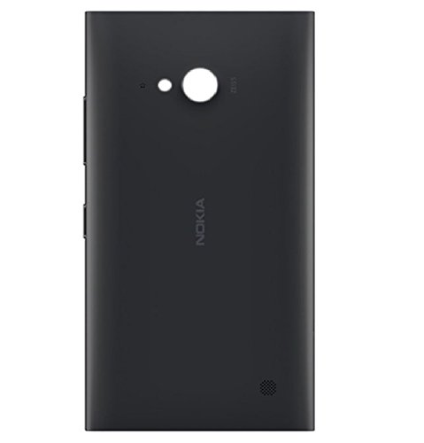 Buckeinstore Back Panel For Nokia Lumia 730 (BLACK)