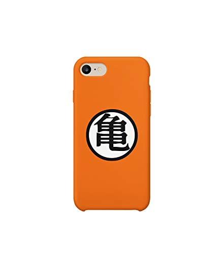 Gi Symbol Goku Turtle Dragon Ball iPhone 6 7 8 X Plus Hard Plastic Protective Phone Case Custodia Protettiva Regalo anniversario compleanno Natale